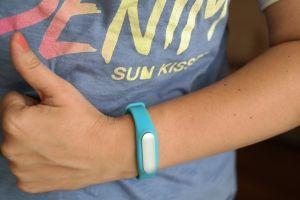 opaska Xiaomi Mi Band 1S blue